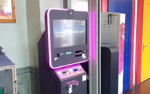 瑞士加密 ATM支持比特币现金的购买和销售