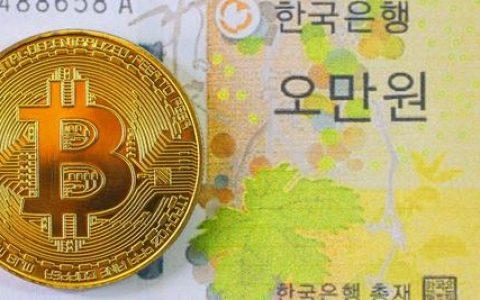 调查显示,韩国去年的加密货币交易量增加了64%