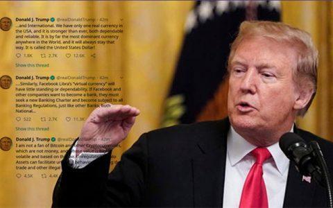 比特币:感谢特朗普总统的公开批评
