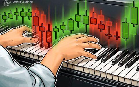 加密貨幣市場漲跌不一 比特幣和以太坊稍有回調