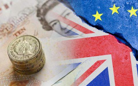 破裂:随着英国退欧协议的失败,英镑崩溃
