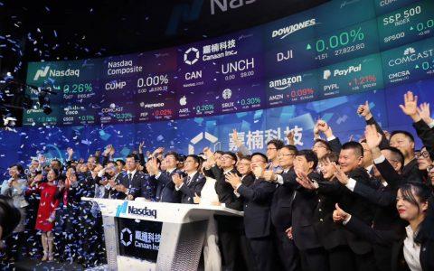 嘉楠科技上市后当日破发,主营业务单一,业绩不及行业龙头10%