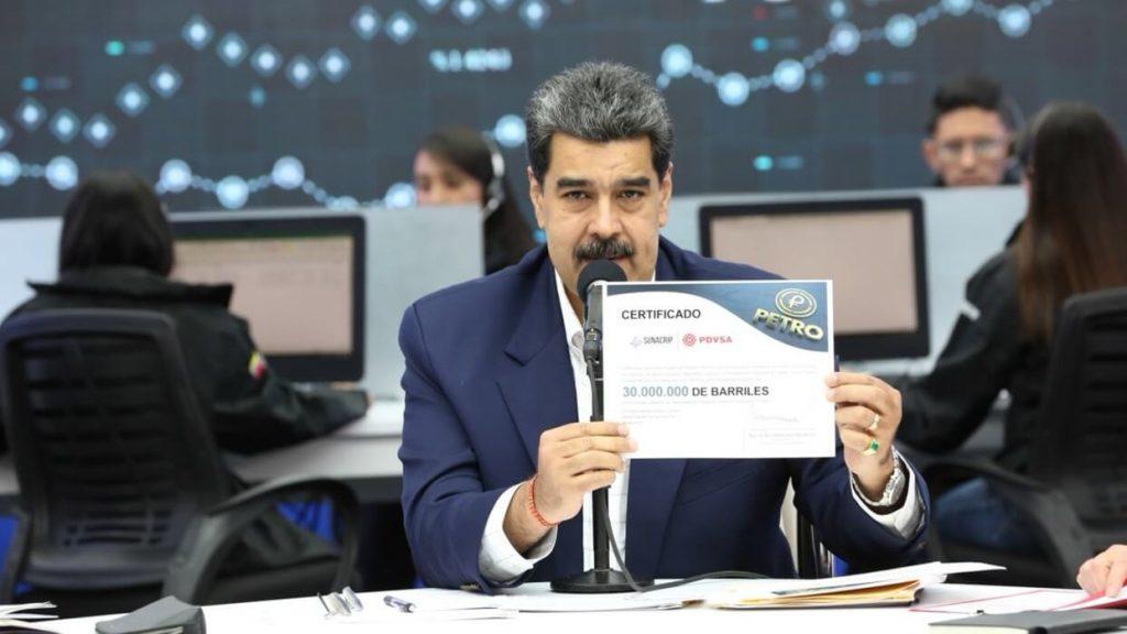 委内瑞拉提供3千万桶石油以支撑石油币