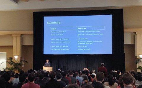 Vitalik最新演讲:覆巢式51%攻击成PoW区块链致命威胁,PoS或是唯一出路