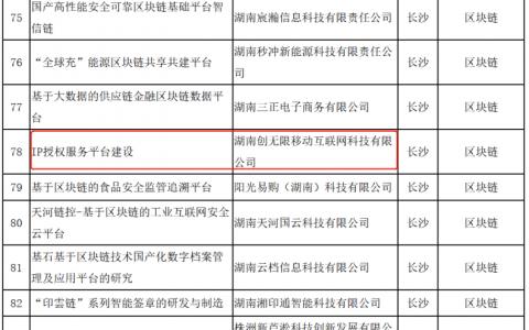 巴比特专访丨湖南公布区块链产业发展重点项目,这家公司何以独占3席?