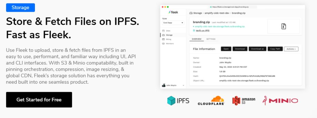 【IPFS生态】如何借助Fleek快速构建IPFS应用程序?