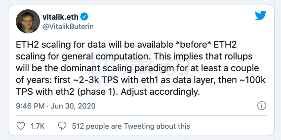 以太坊2.0即将发布,但距离正式投入使用还有多久?