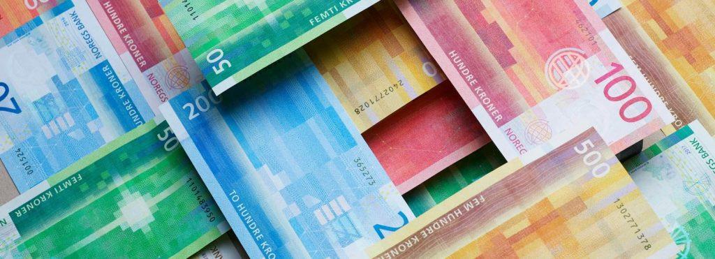 挪威银行表示,挪威只有4%的人在使用现金