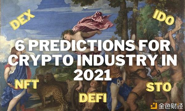"""021年加密行业的6大预测"""""""