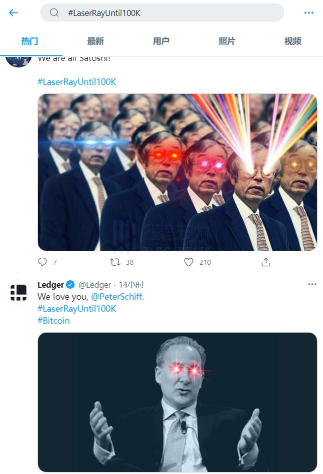 为什么马斯克、SEC议员等众多大V都换了「激光眼」头像?