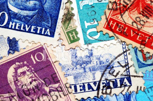 瑞士国家邮政局推出加密邮票
